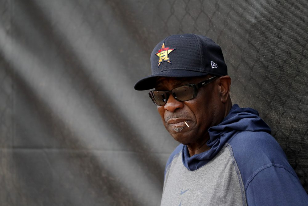 Houston Astros Manager Dusty Baker wants Major League Baseball to put a stop to the verbal attacks against his team and fears pitcher may throw at his players in retribution for a sign-stealing scheme.