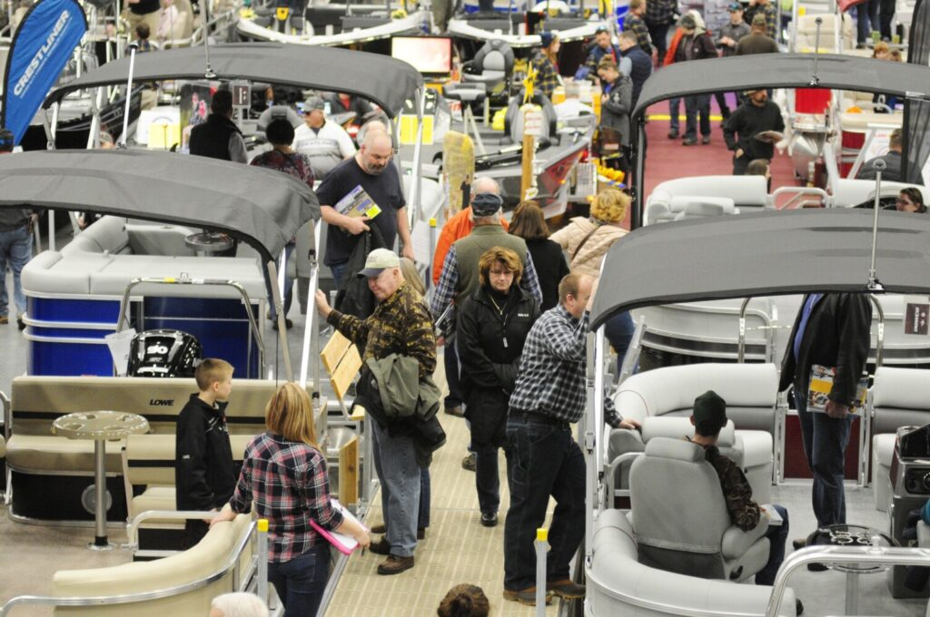 Maine's recreational boating industry has a $2.9 billion impact on the state's economy, according to the National Marine Manufacturers Association. The four boat shows held around the state over the next month help drive interest.