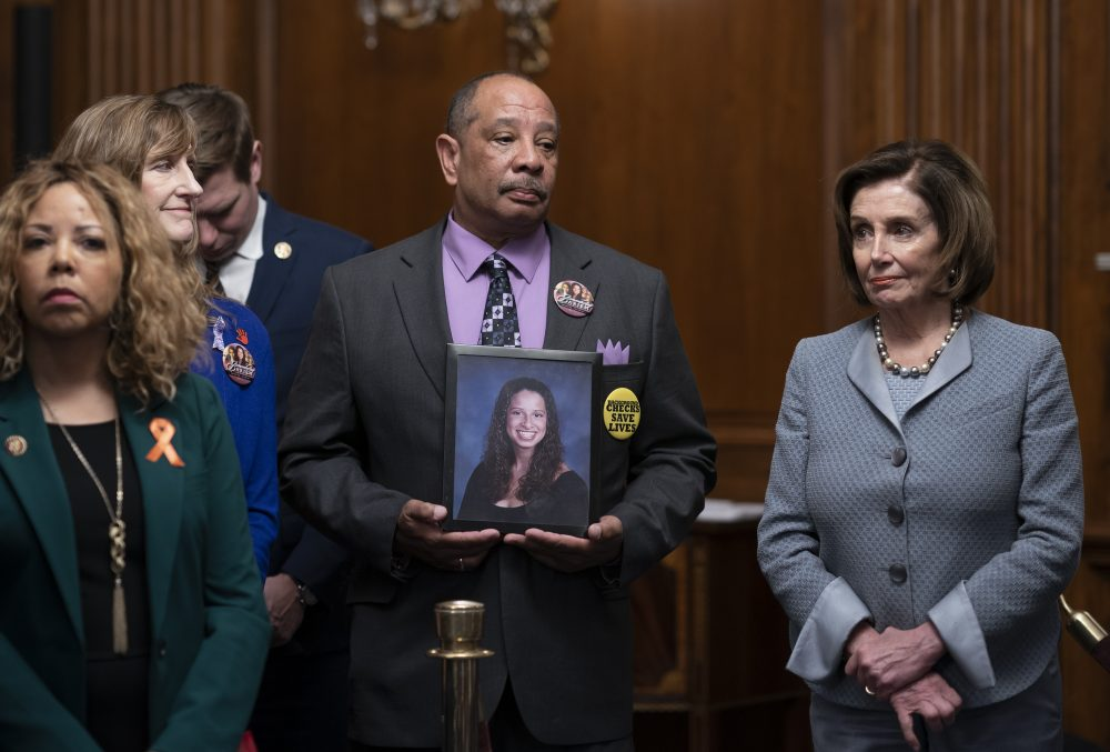 A year after House vote, Democrats challenge McConnell on guns