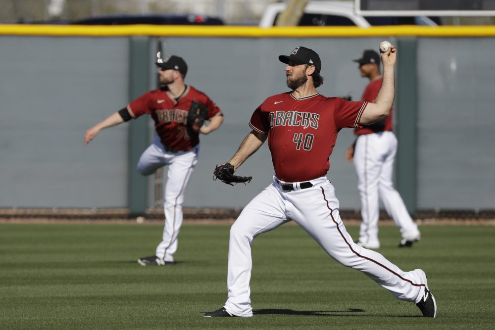 Diamondbacks pitcher Madison Bumgarner has competed in rodeo events as Mason Saunders.