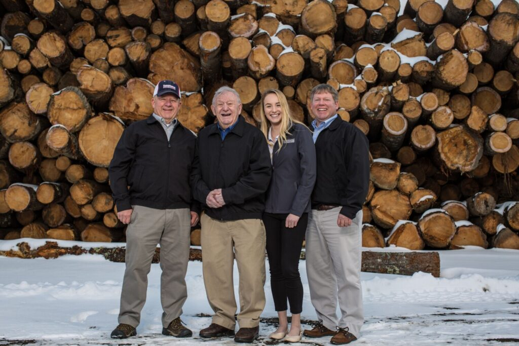 "Hammond Lumber has been named 2020 ProSales Dealer of the Year. From left are Don Hammond, vice president; Clifton ""Skip"" Hammond, co-founder; Sadie Hammond, sales associate; and Mike Hammond, president and CEO."