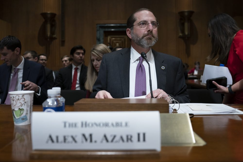 Secretary of Health and Human Services Alex Azar on Tuesday backed off a warning earlier in the day from the U.S. Centers for Disease Control and Prevention that the spread of the coronavirus in the U.S. is inevitable.