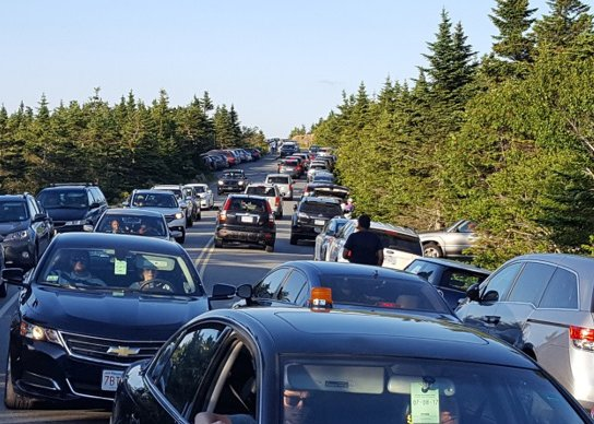 Congestion in Acadia National Park