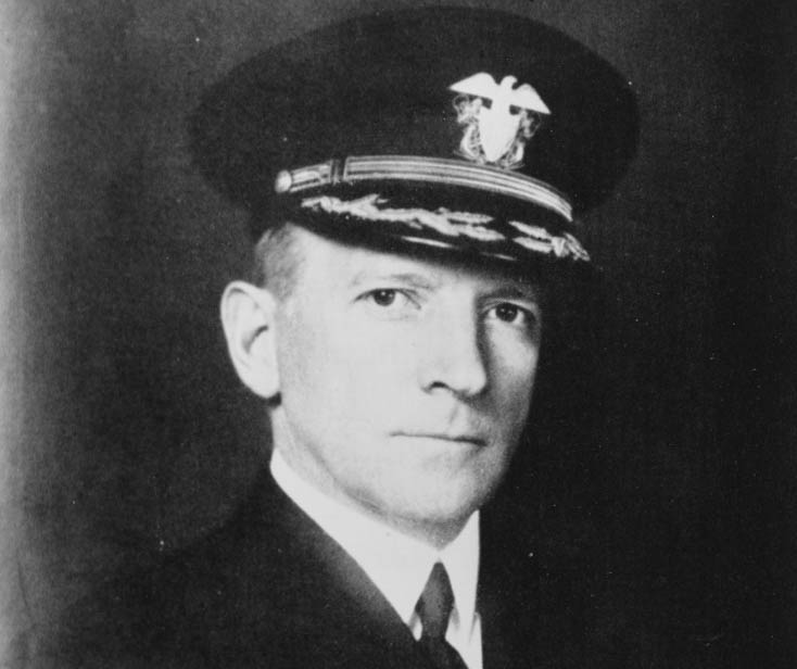 Photograph of John W. Wilcox Jr., as a captain.