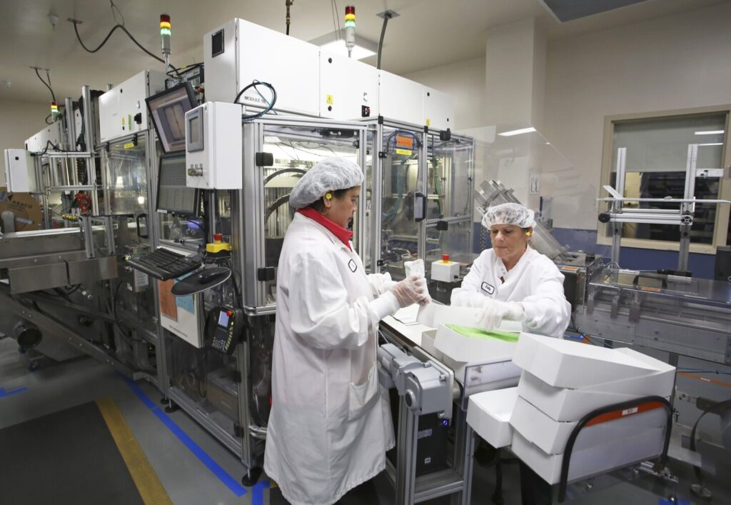 Abbott Laboratories plans expansion into Westbrook to boost production of test kits