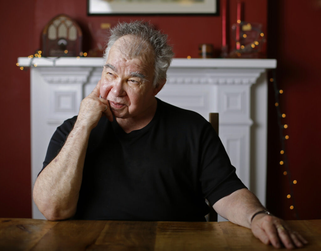 John Prine sits for a portrait in his office in Nashville, Tenn., on June 20, 2017.