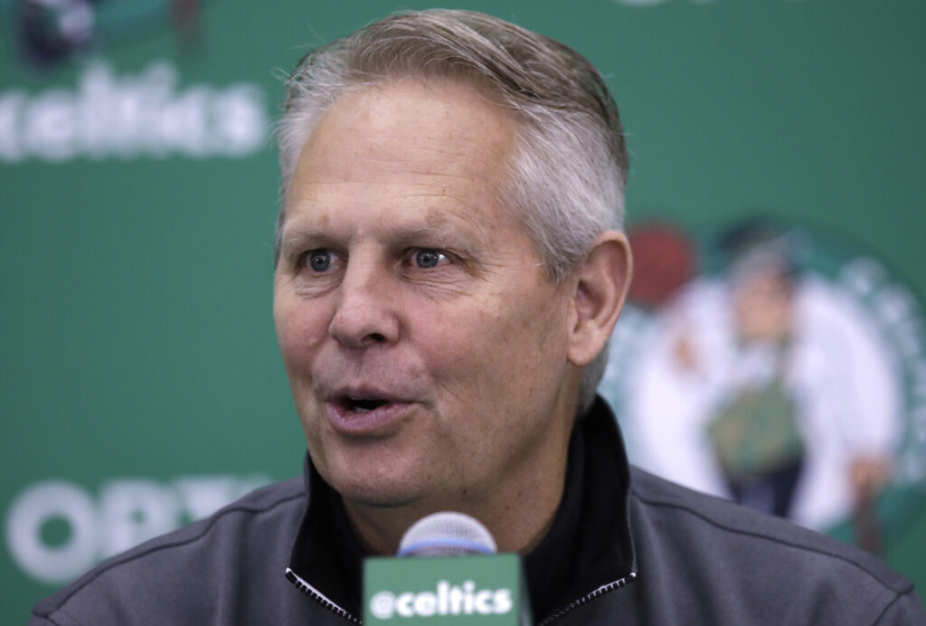 Boston Celtics President of Basketball Operations Danny Ainge continues to put in hours, preparing for the NBA Draft and keeping in contact with his organization during the coronavirus pandemic.
