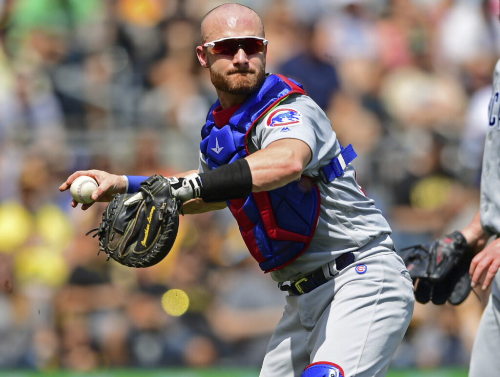 Former Cubs catcher Jonathan Lucroy is battling Kevin Plawecki for the backup catching job with the Boston Red Sox. If there is a season in 2020, it will likely start with 29-man rosters, allowing the Sox to keep both.