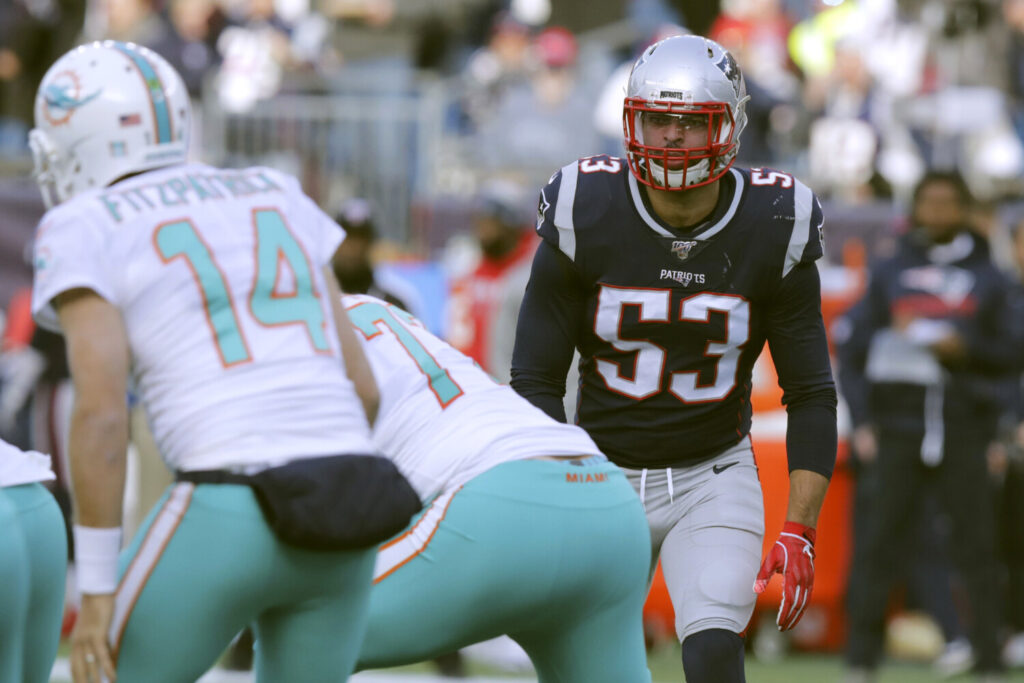 Former New England Patriots linebacker Kyle Van Noy said Miami showed the most interest in him and wants him to be a leader, which made singing with the Dolphins a no-brainer.