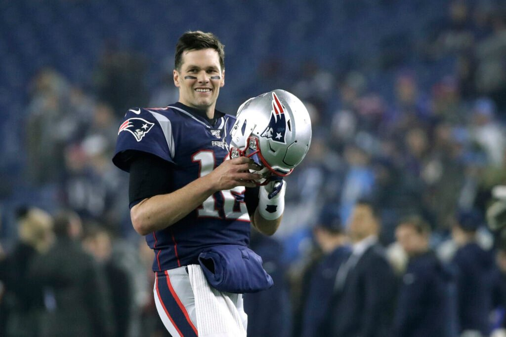 Former New England Patriots quarterback Tom Brady is one of eight players unanimously selected to the NFL All-Decade team.
