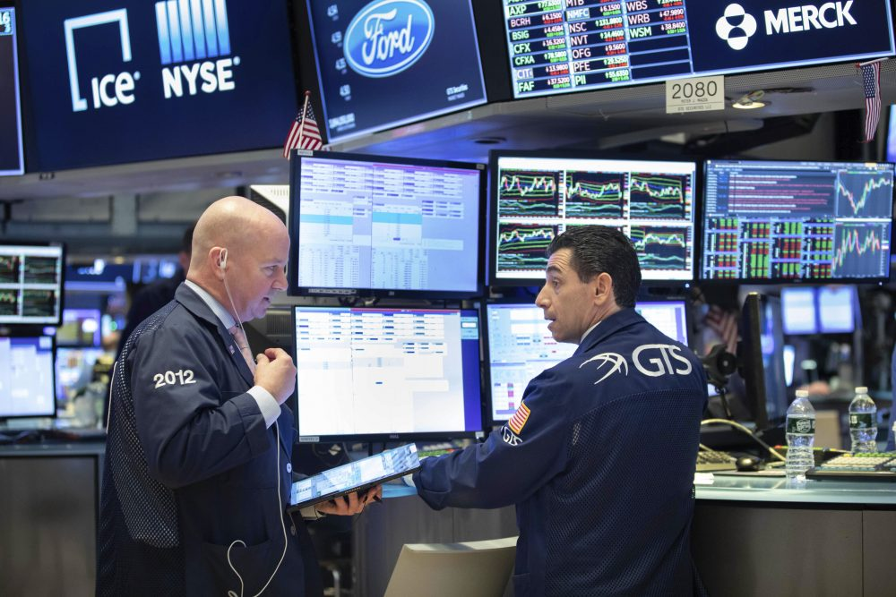 Financial markets dip after Dow closes below 20K