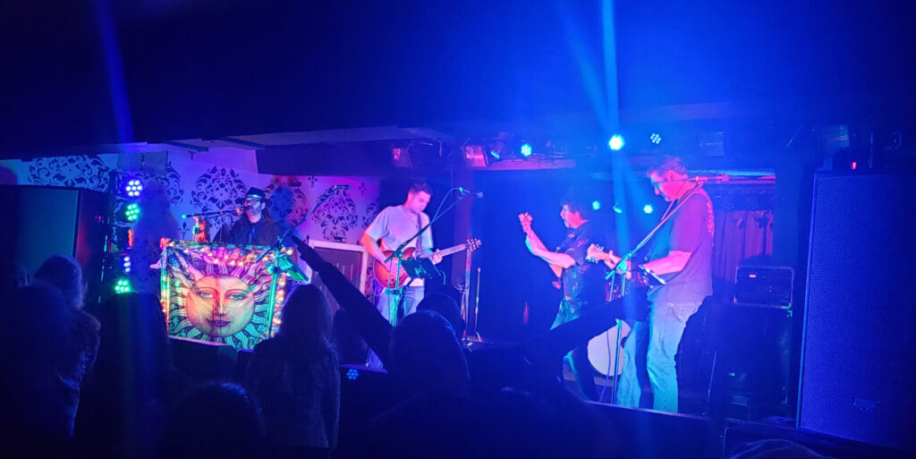 Not Fade Away Band, a Grateful Dead tribute band.