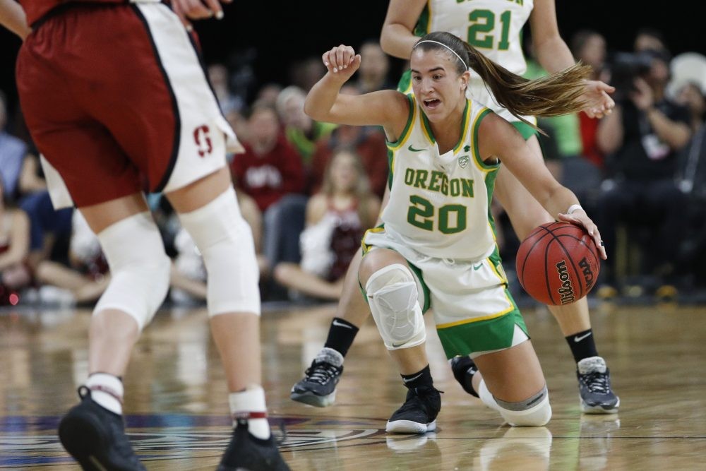 Oregon's Sabrina Ionescu was a unanimous choice as the Associated Press women's basketball player of the year.