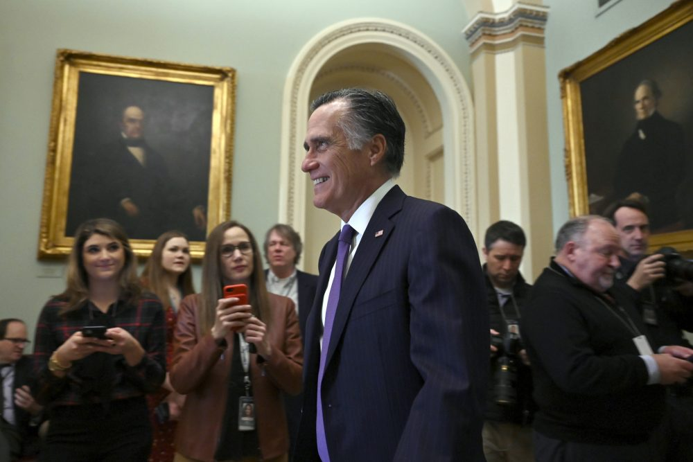 Sen. Mitt Romney will back Burisma/Biden probe