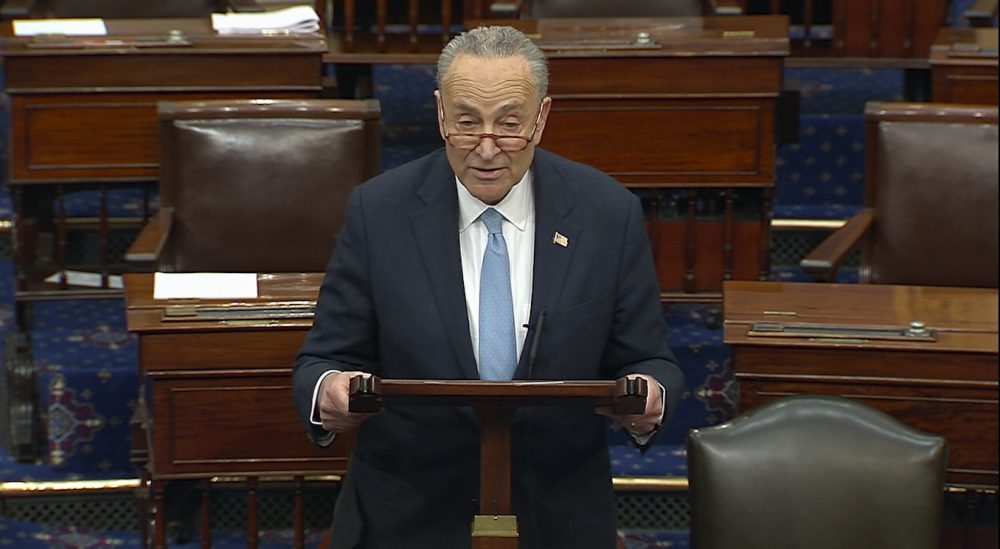 "Senate Minority Leader Chuck Schumer of New York said Thursday that he ""should not have used the words I used"" when he declared in front of the U.S. Supreme Court that two justices would ""pay the price"" for their decision in an abortion case."