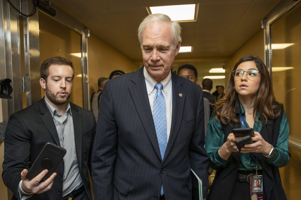 Sen. Ron Johnson, R-Wis., chairman of the Senate Homeland Security and Governmental Affairs Committee, said a probe related to Democratic front-runner for the party's nomination and former vice president, Joe Biden, will move forward.