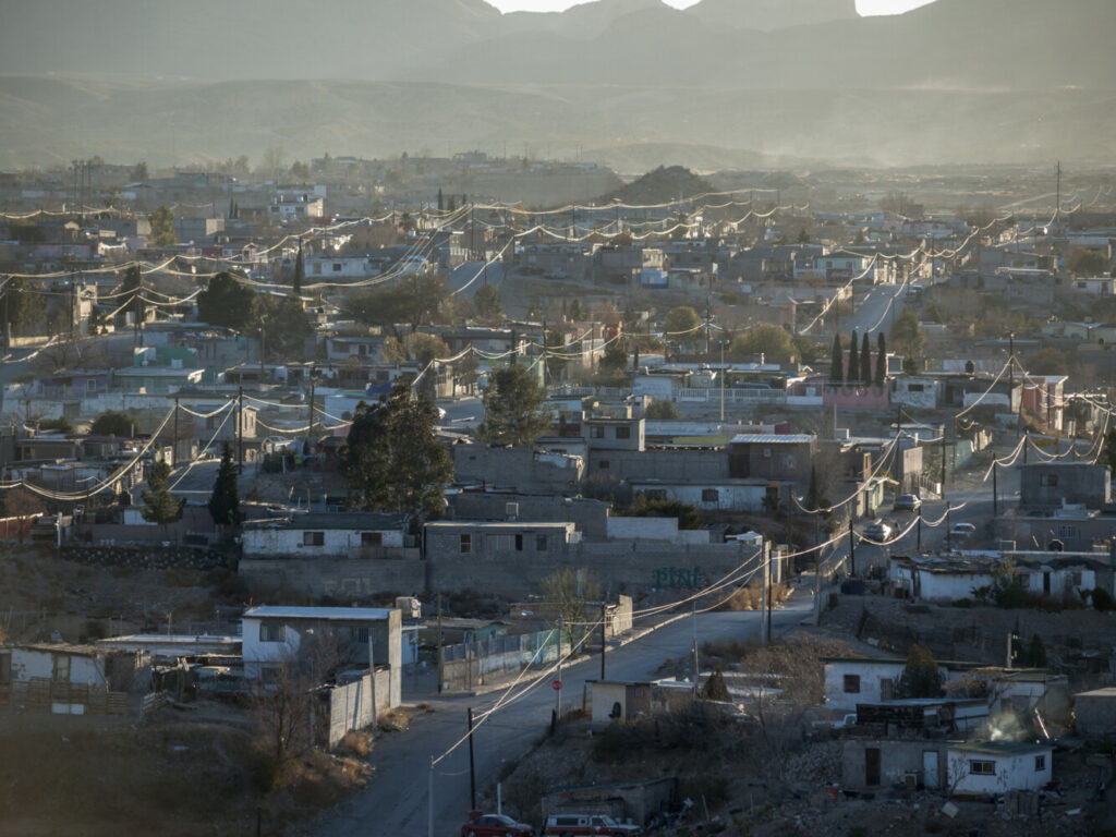 A view of the cityscape in Juarez, Mexico. Border towns have seen a run on the drug hydroxychloroquine, a drug President Trump has called a potential cure for the coronavirus, even as some health experts cast doubt on its effectiveness.
