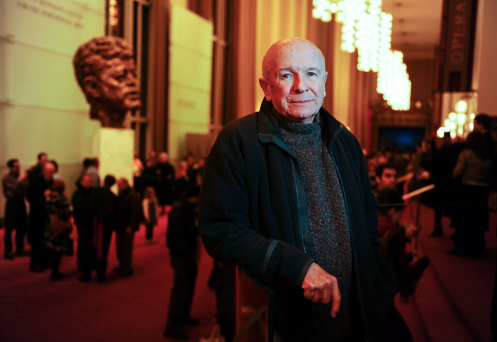 """Playwright Terrence McNally at the Kennedy Center in Washington, D.C., in 2010. After a string of setbacks, he won Tony awards for best book of a musical with """"Kiss of the Spider Woman"""" (1993) and """"Ragtime"""" (1998)."""