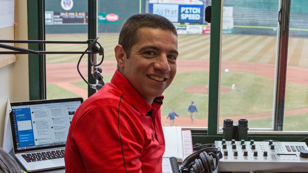 Mike Antonellis made his debut in the Portland Sea Dogs radio booth in 2005. He is waiting to call his first game with the Red Sox Triple-A affiliate with the season on hold because of the coronavirus pandemic.