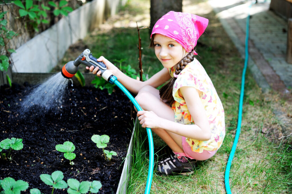 Obviously, it's too early in Maine for this outfit or chore, but you get the picture. Are your kids stuck at home because of the coronavirus and looking for something to do? Plenty of fun garden projects can help alleviate their boredom.