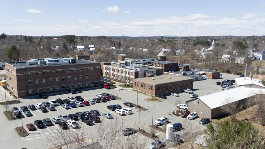 Redington-Fairview Hospital on Tuesday in Skowhegan. Hospitals officials reported Monday that some rehabilitation staff had tested positive for COVID-19.