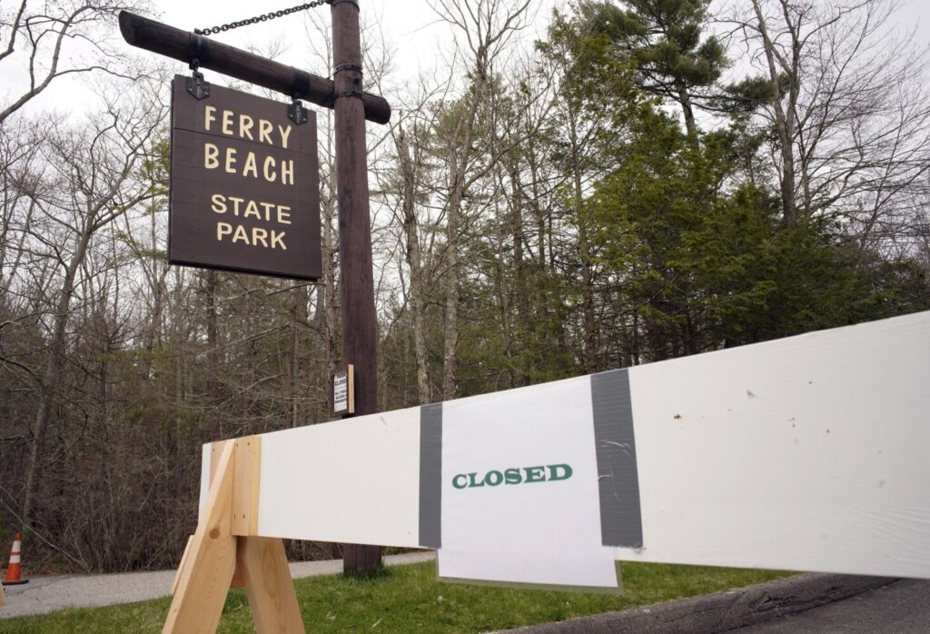 Coastal state parks, like Ferry Beach State Park in Saco, are slated to open in stage 2 of Gov. Janet Mills plan to reopen the state's economy and businesses.