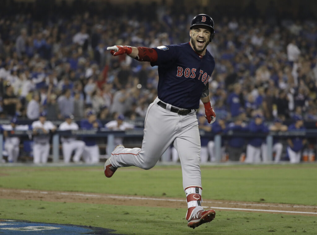 Steve Pearce was named the World Series MVP in 2018 and he said the Red Sox won the title fair and square. Boston was investigated for stealing signs and is awaiting the release of Major League Baseball's report.