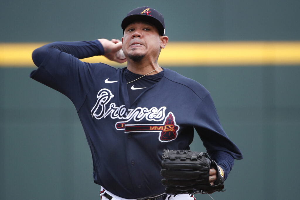 Felix Hernandez, who was trying to earn a spot with the Atlanta Braves in spring training, will get an advance payment of up to $50,000 from the Major League Baseball Players Association.