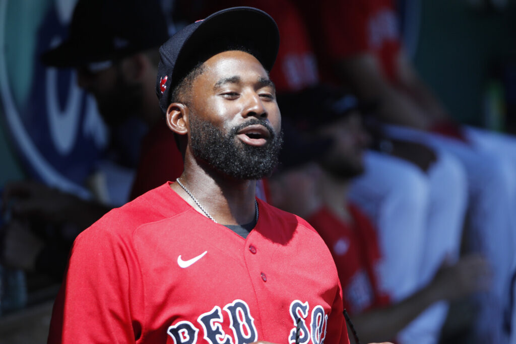Boston Red Sox center fielder Jackie Bradley Jr. and his wife Erin made donations and helped spread the word about the needs of the homeless in Boston during the coronavirus pandemic.