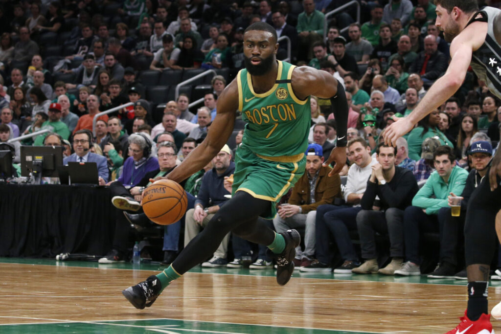 Boston Celtics guard Jaylen Brown wrote in an editorial for The Guardian  urging people to stay together despite isolation.