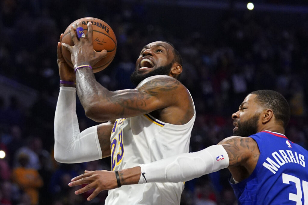 LeBron James, like everyone else involved in the NBA, is awaiting word when the league can begin play again. No one has answers when or if games will be played, how the draft will work or what's in store for free agency.