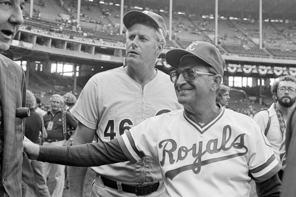Former Kansas City Royals and Chicago Cubs manager Jim Frey died on Sunday. He was 88.