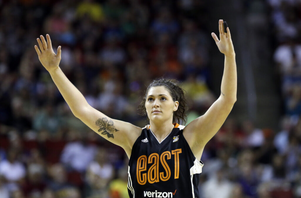 Chicago Sky center Stefanie Dolson is the second WNBA player known to have contracted COVID-19.