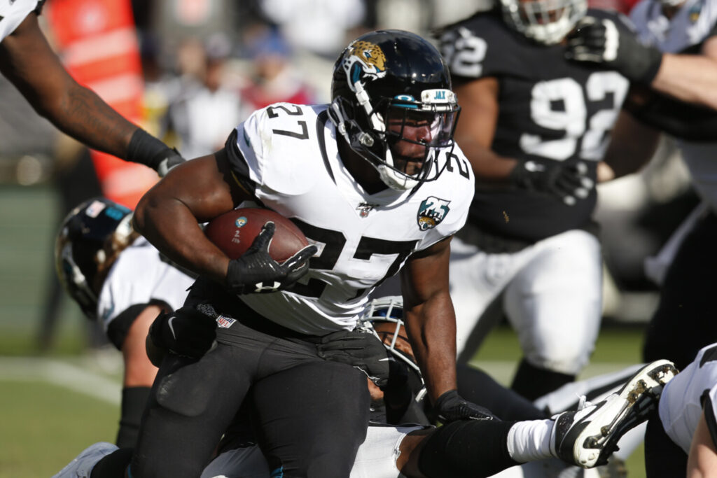 The Jacksonville Jaguars are reportedly interested in training running back Leonard Fournette before or during the NFL draft, which starts Thursday.