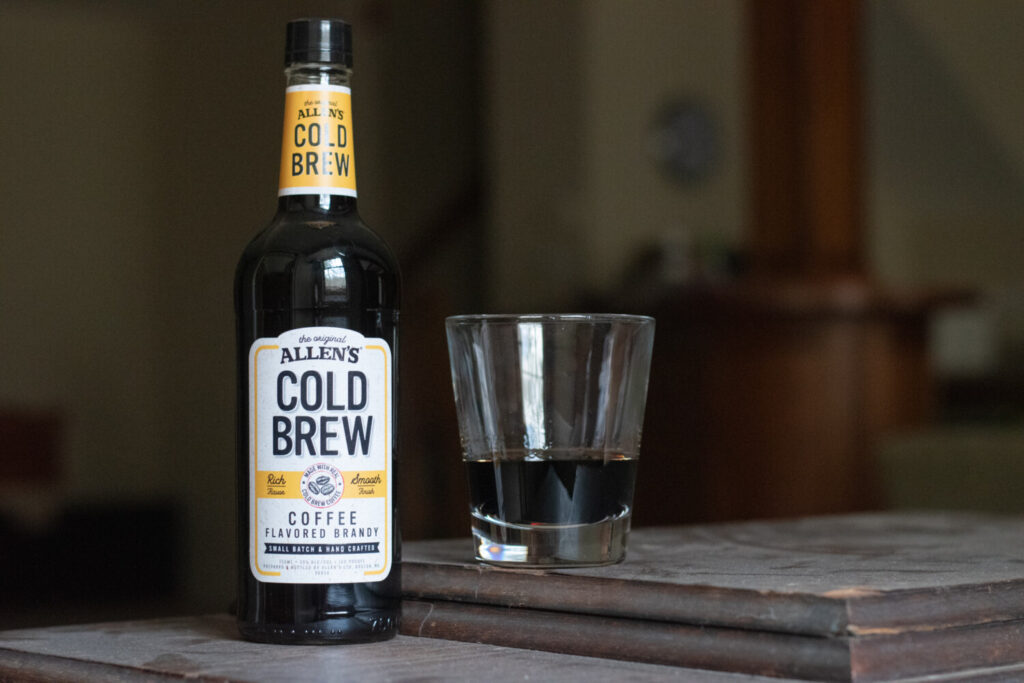 Next month, M.S. Walker will release Allen's Cold Brew Coffee Flavored Brandy, the first new style of Mainers' most beloved alcoholic beverage in almost a generation.