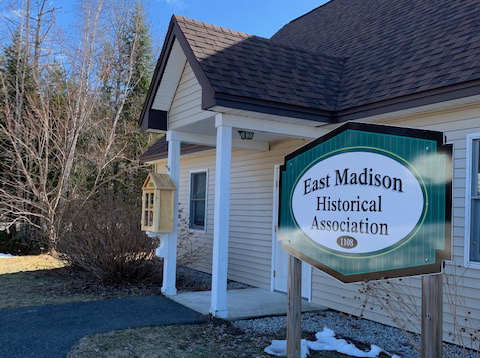 East Madison Historical Association's Blessings Box is at the EMHA building next to the EM fire station in Madison.  The box will be filled with a variety of dry goods and non-perishable food items to share with anyone in need. It will be replenished regularly and is available 24/7.