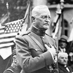 St Mihiel Honours General Pershing 1935