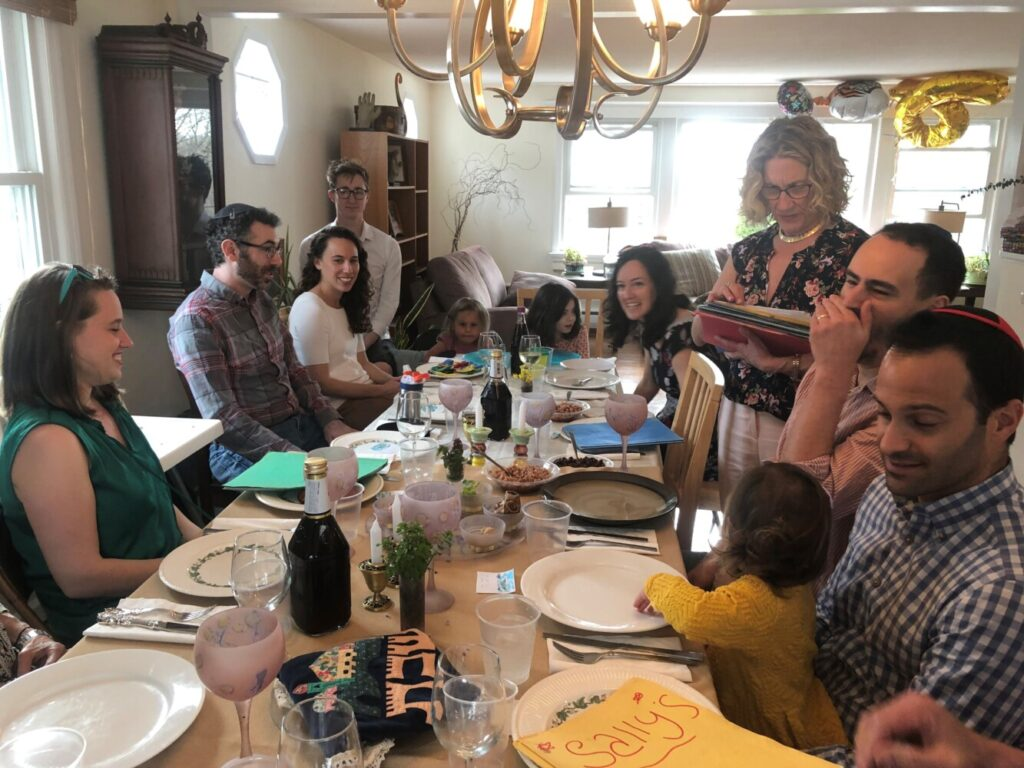 Last year, the Levy family celebrated the Passover Seder at Portlander Mimi Levy's brother's home in Connecticut.