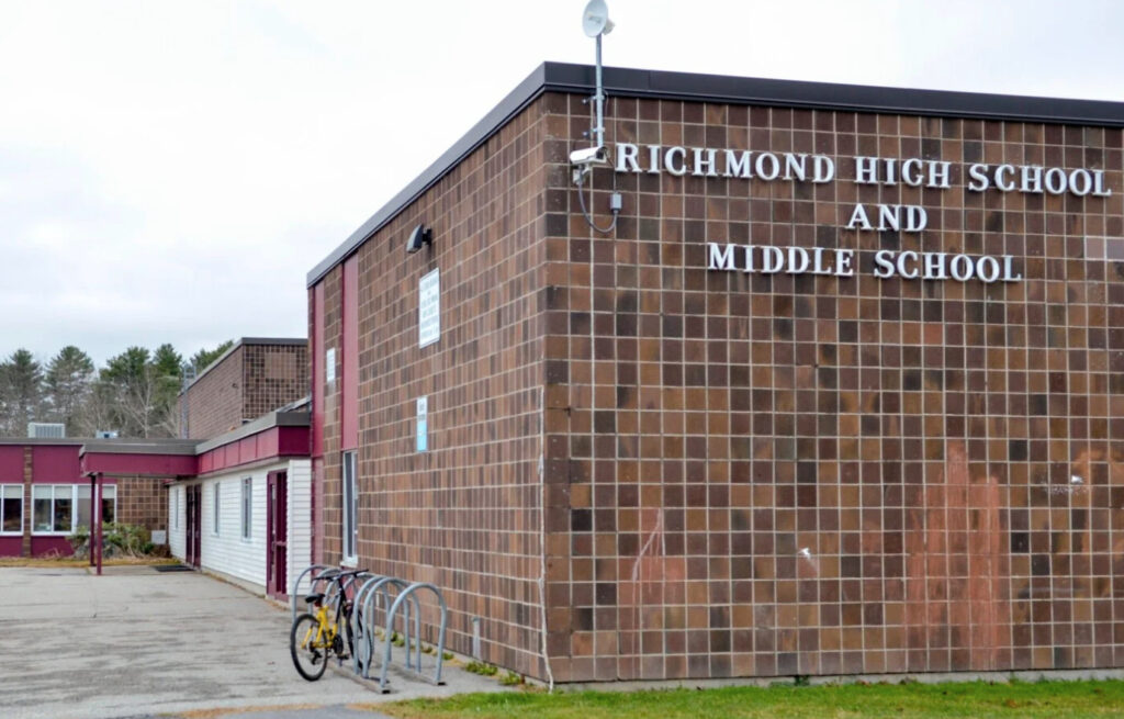 Richmond High School and Middle School in a photograph taken in November 2019.
