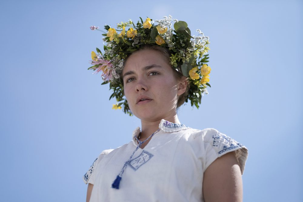 "Florence Pugh stars in ""Midsommar."""