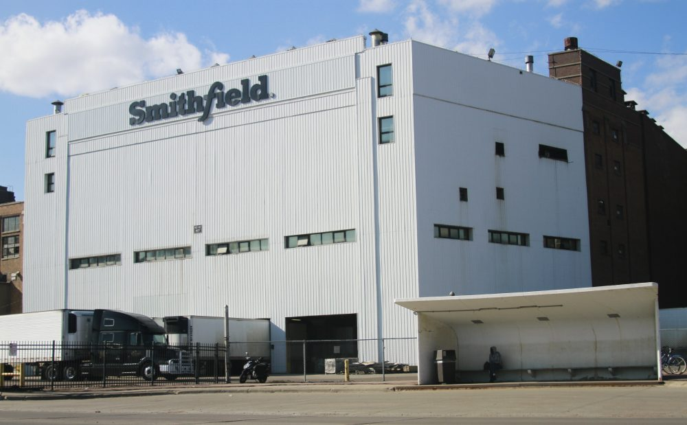 The Smithfield pork processing plant in Sioux Falls, S.D.,  reported dozens of employees had confirmed cases of the coronavirus infection and closed the plant.