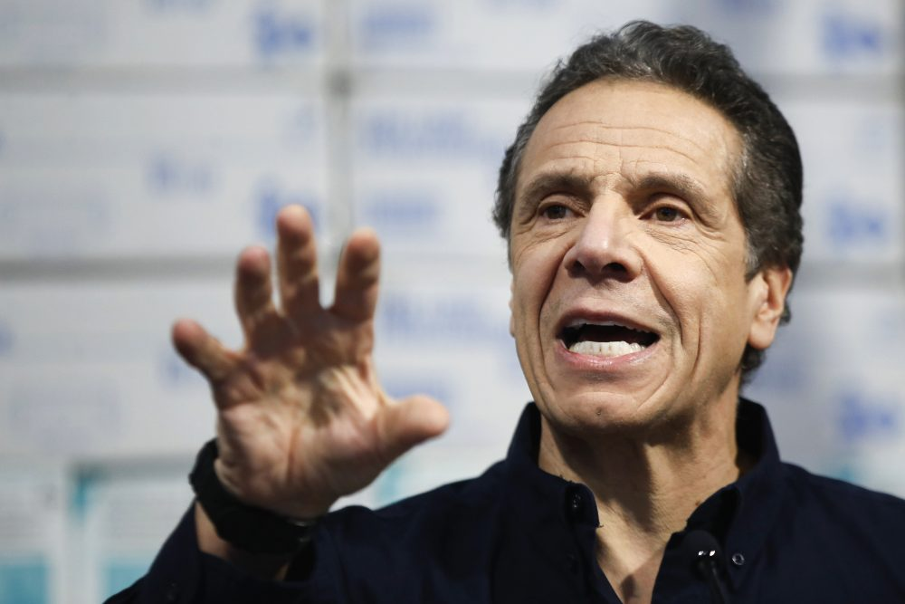 "Sunday was the first time New York Gov. Andrew Cuomo spoke at length about reopening the state and what it would take. ""There is no doubt that, at this point, we've gone through the worst,"" he told reporters in Albany. ""And as long as we act prudently going forward, the worst should be over."""