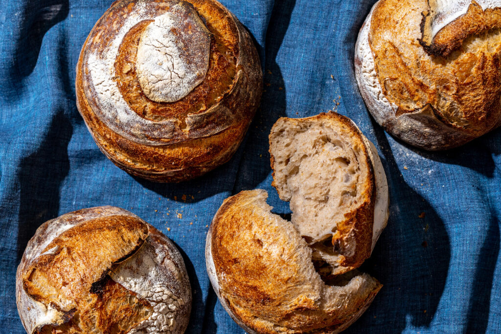 Homemade sourdough bread. It's trending and it's delicious. Still, you have permission NOT to bake a loaf during these stay-at-home times.