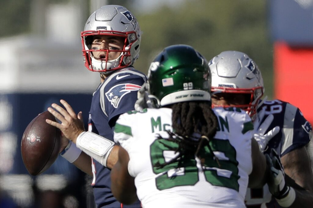 The Patriots haven't yet said that they're committed to Jarrett Stidham as their starting quarterback, but their actions this offseason point in that direction.