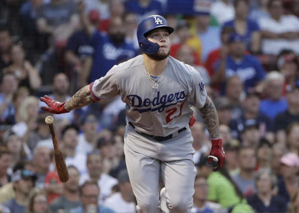 Alex Verdugo was one of the players the Red Sox acquired in the Mookie Betts trade with the Los Angeles Dodgers. Verdugo was sideline in spring training with a stress fracture in his spine, but he said Monday whenever the season starts, if it does, he will be ready.