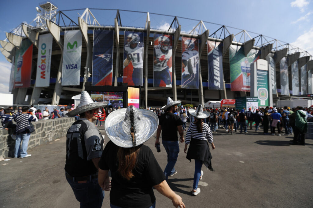 The NFL is moving its five games scheduled for London and Mexico City this season back to U.S. stadiums because of the coronavirus pandemic. All five regular-season games will now be played at the stadiums of the host teams.