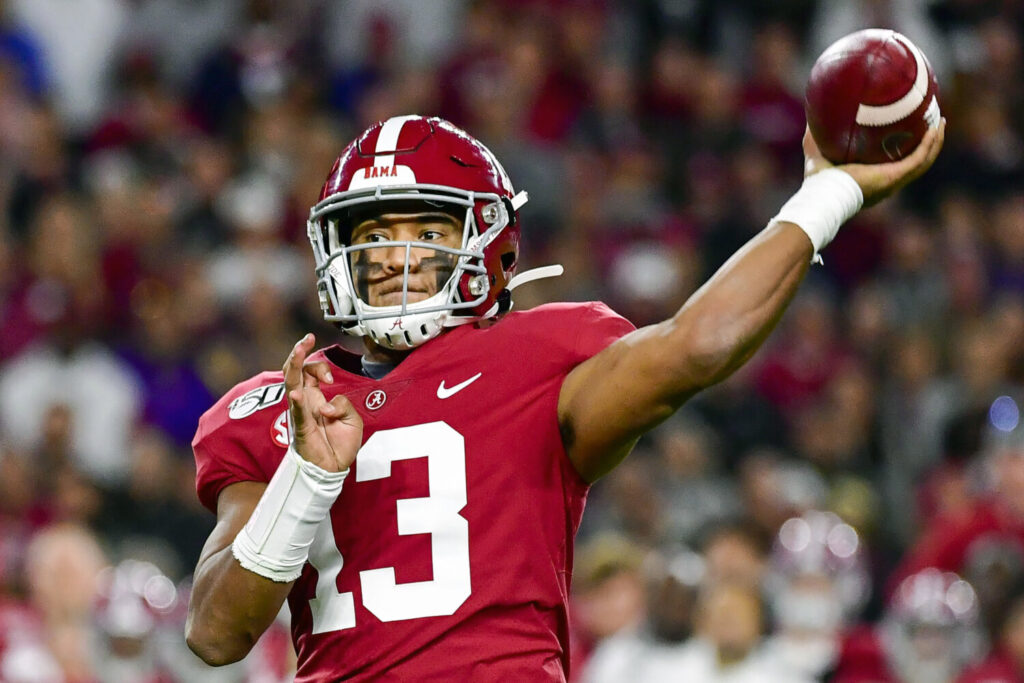 Miami selected Alabama quarterback Tua Tagovailoa in the first round and he could become the first left-handed quarterback to start a game in the NFL since 2015.