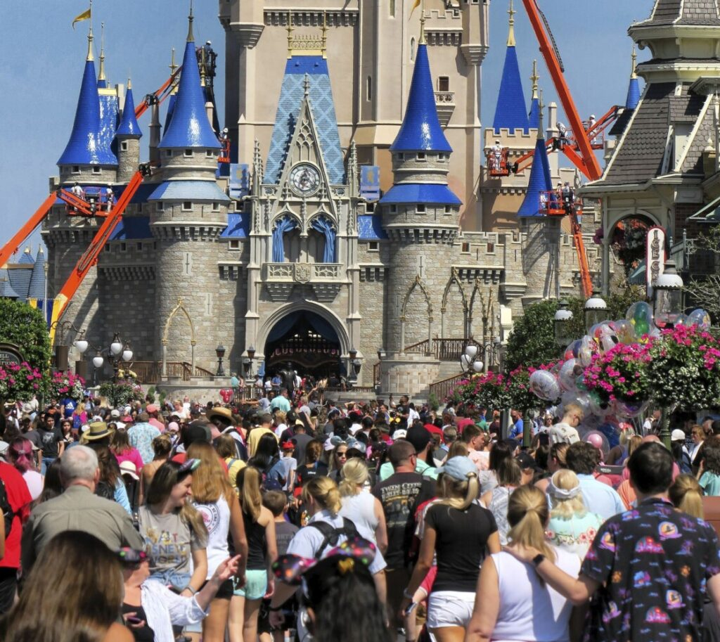 "The NBA has had ""exploratory"" discussions about restarting its season at the ESPN Wide World of Sports complexon the Disney property near Orlando, Florida."