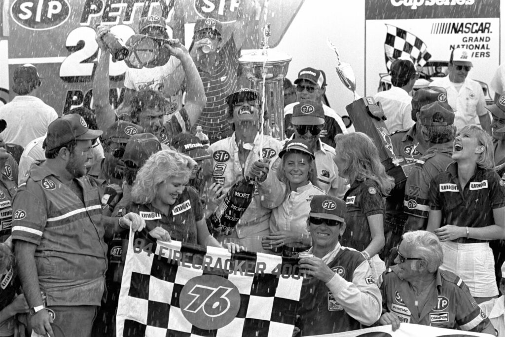 The last time NASCAR started a race on a Wednesday night was a big one. Richard Petty earned his 200th career victory at Daytona International Speedway on July 4, 1984.