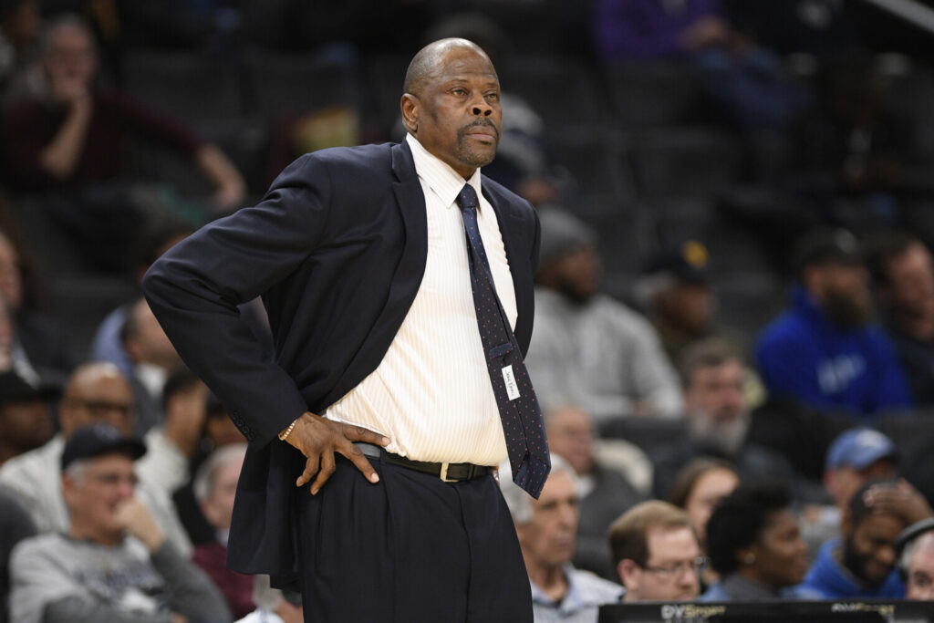 Georgetown Coach Patrick Ewing, who announced Friday he was in the hospital after testing positive for COVID-19, is home and recovering, according to his son.